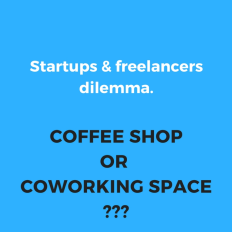 Why pick Coworking Space in Bangalore over coffee points?